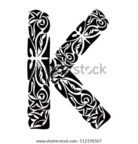 T Letter Made Musical Notes On Stock Vector 428769967