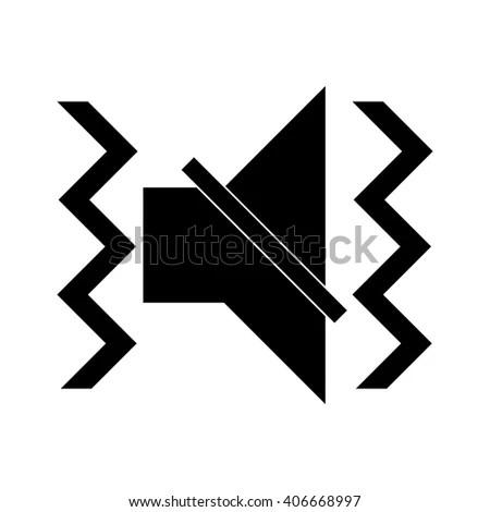 Vibration Icon Stock Vector 406669027 Shutterstock