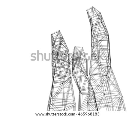 Double Exposure Man Survey Civil Engineer Stock Photo