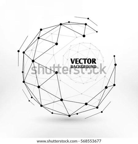 Digital Font Alarm Clock Letters Numbers Stock Vector