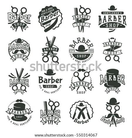 Happy Grandparents Day Typographic Emblems Logo Stock