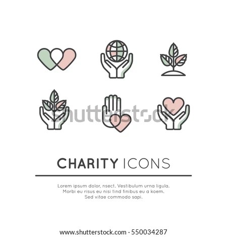 Vector Illustration Icon Set Graphic Elements Stock Vector