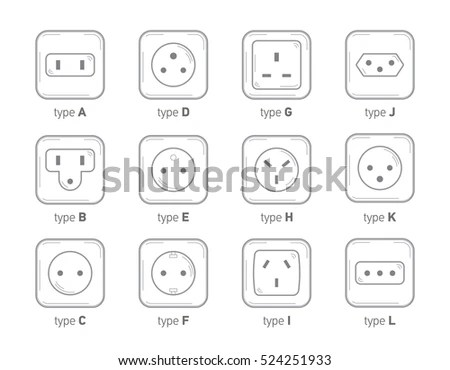 Electrical Outlet Symbol Floor Plan, Electrical, Free