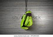 boxing gloves hanging nail