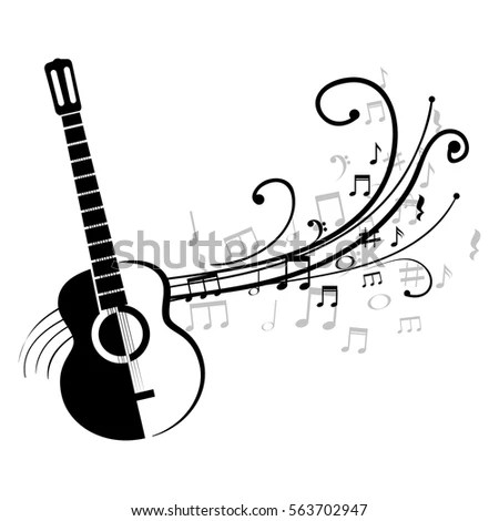 Music Background Musical Theme Place Your Stock