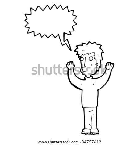 Cartoon Drunk Football Hooligan Stock Vector 82206736