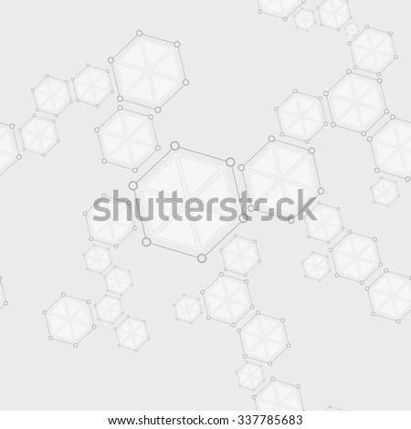 Molecules Concept Neurons Nervous System Vector Stock