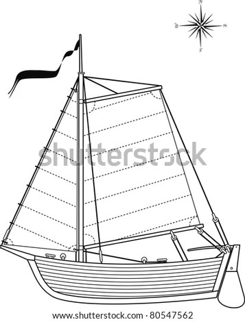 Image Drawing Geometric Shapes Stock Illustration 89352160