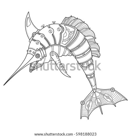Vector Red Lionfish Pterois Volitans Stock Vector 5833414