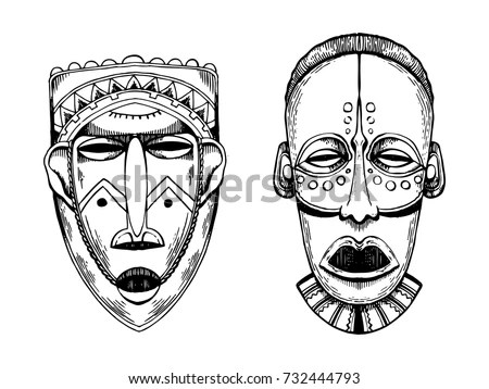 Tiki Humanlike Figure That Represents Polynesian Stock