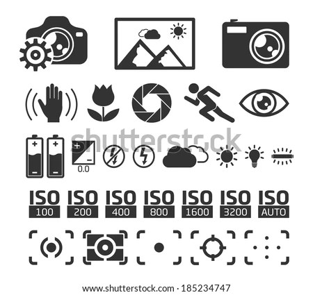 Digital Camera Icons Symbols, Digital, Free Engine Image