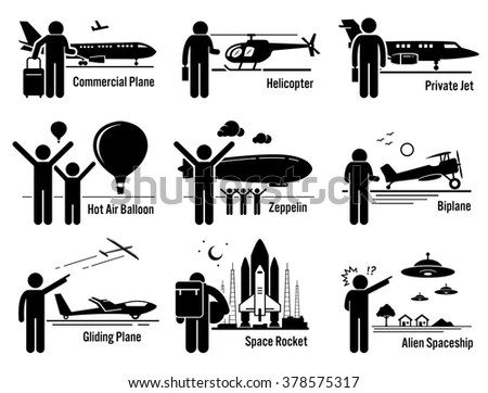 Emergency Rescue Team Stick Figure Pictogram Stock Vector
