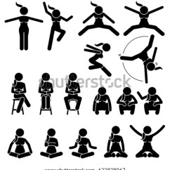 Good Posture Lounge Chair Covers To Rent Sleep Sleeping Position Style Method Stock Vector 94437679 - Shutterstock