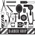Vector barber pole vector barber chair vector hair clippers vector