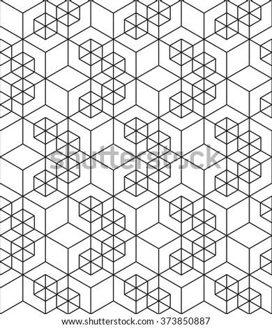 Geometric Seamless Pattern Stock Vector 552729922
