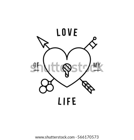 Black White Valentines Hearts Background Text Stock Vector