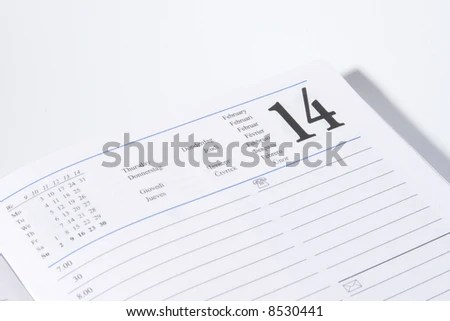 Spanish calendar Stock Photos, Images, & Pictures