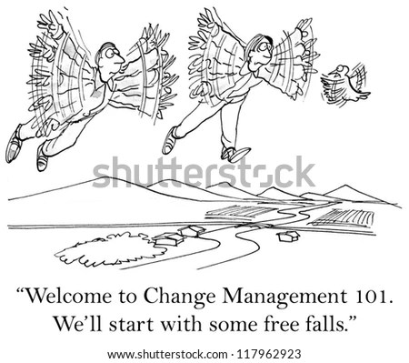 Lets Try Once Without Parachute Stock Illustration