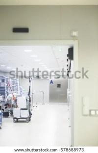 Hospital Ward Emergency Room Operating Theater Stock Photo