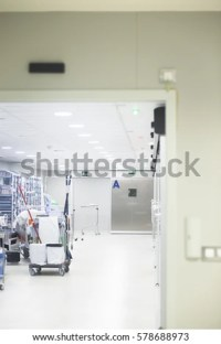 Hospital Ward Emergency Room Operating Theater Stock Photo ...