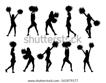 Beach Volleyball Players Vector Silhouette Isolated Stock