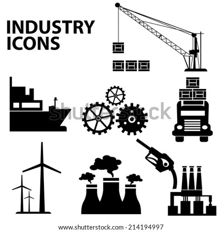 Industrial Conveyor Belt Line Vector Illustration Stock
