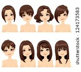 short haired graphics vector