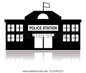 police station building vector department clip vectors shutterstock officer 3d pic
