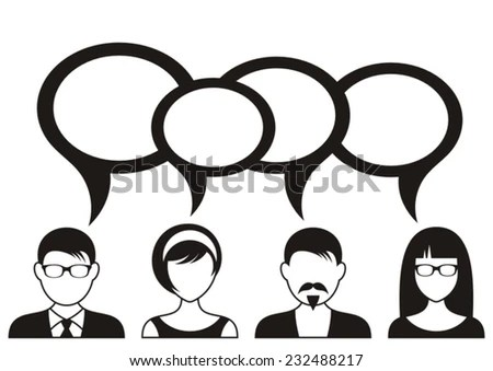 Question And Answer Stock Vectors & Vector Clip Art