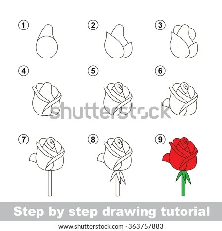 How to draw facebook logo step by step