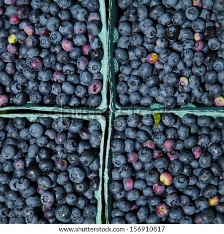 Pints Of Blueberries Stock Photos Images Pictures