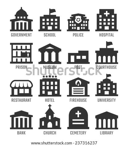 Government Icon Stock Photos, Images, & Pictures