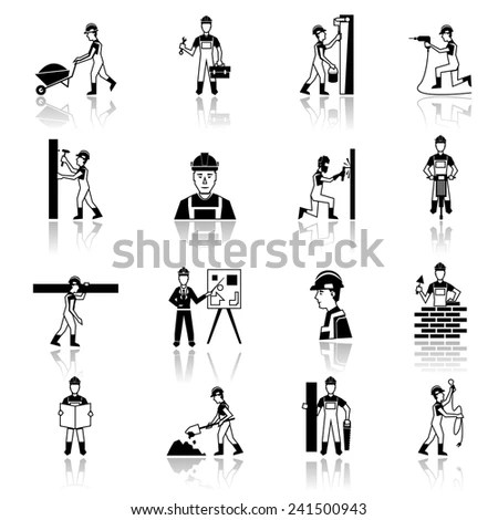 Clip Art Construction Tools Coloring Pages