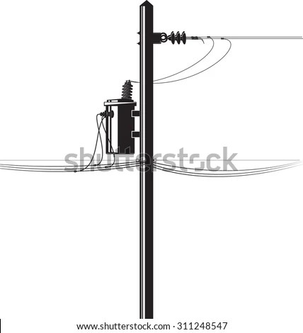 Electrical Transformer Stock Vectors & Vector Clip Art
