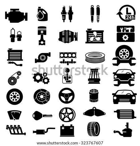 V8 Engine Symbol, V8, Free Engine Image For User Manual