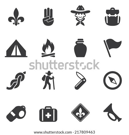 Boy Scout Badge Stock Photos, Images, & Pictures