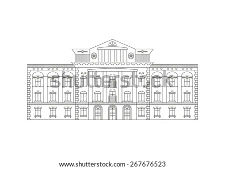 College Building Stock Photos, Images, & Pictures