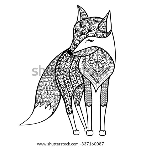 A Fox Symbol, A, Free Engine Image For User Manual Download