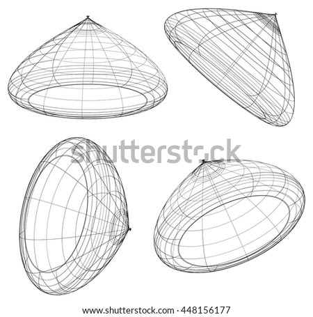 D Curved Rendering Stock Photos, Images, & Pictures