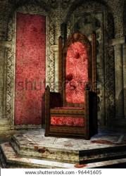 throne room fantasy castle crimson medieval barbarian shutterstock stone torches illustrations pic illustration