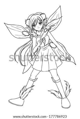 Fairy Princess Stock Illustration Illustration Of Pixie