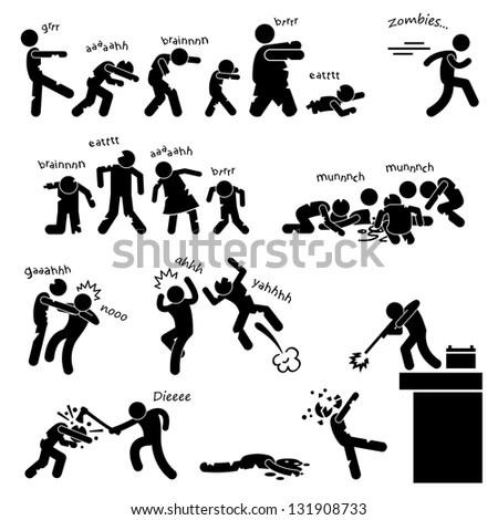 Zombie Undead Attack Apocalypse Survival Defense Outbreak