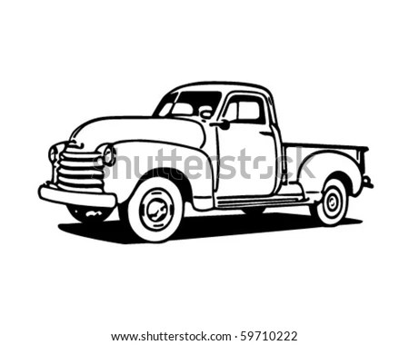 Classic pickup truck Stock Photos, Images, & Pictures