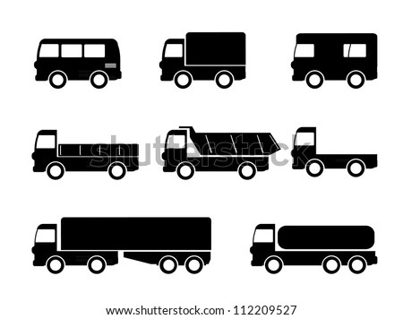 Delivery Truck Icon Stock Photos, Images, & Pictures