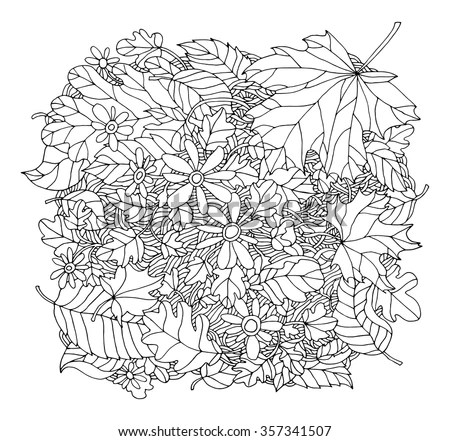 Grass Field Page Coloring Pages