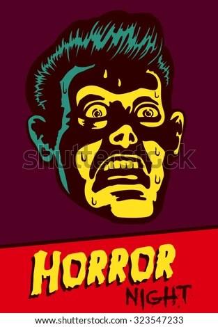 scary stock vectors & vector clip