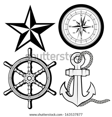 Nautical Star Template