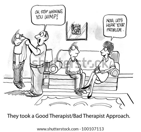 Cartoon psychologist Stock Photos, Images, & Pictures