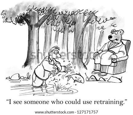 Business Coaching Cartoons Stock Photos, Images