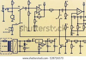 Electric Circuit Diagram Stock Photos, Images, & Pictures | Shutterstock